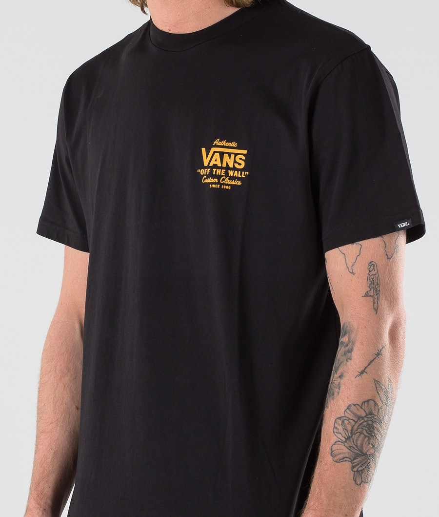 Vans Holder Street II T-shirt Black/Old Gold