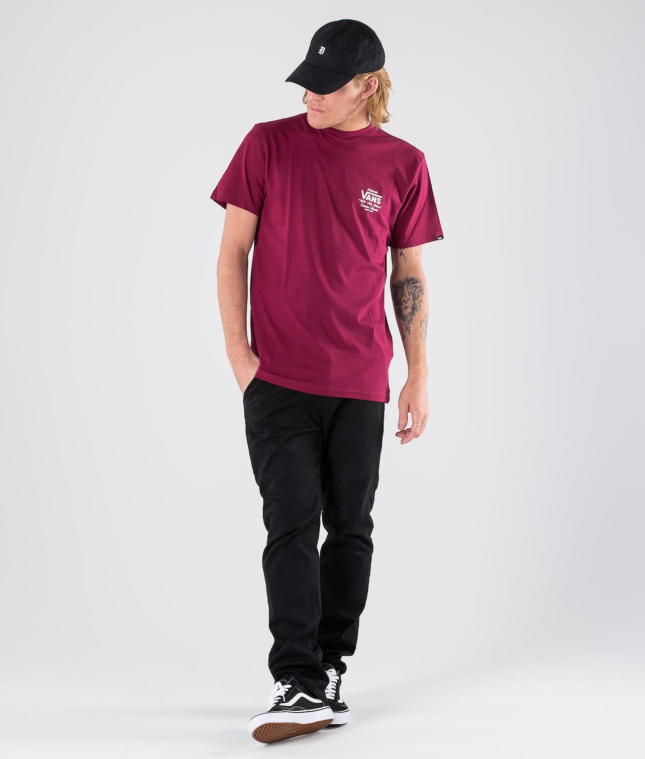Kjøp Holder Street II T-shirt fra Vans på Ridestore.no - Hos oss har du alltid fri frakt, fri retur og 30 dagers åpent kjøp!