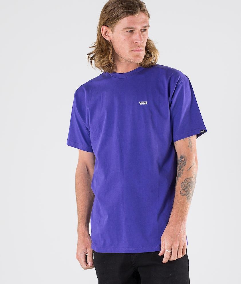 Vans Left Chest Logo T-shirt Vans Purple