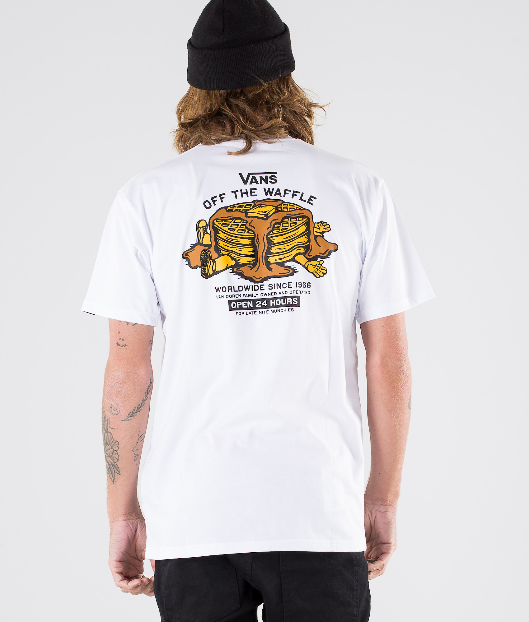46d9786692 Vans Off The Waffle Ss T-shirt White