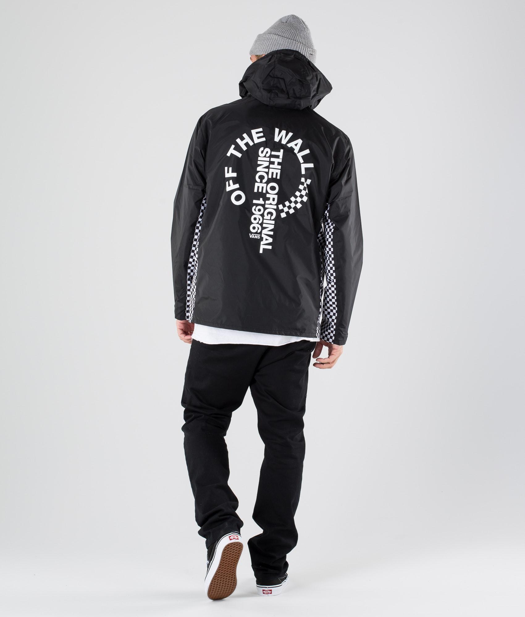 cc1fb2dae97 Vans Otw Distort Anorak Jacket Black - Ridestore.com
