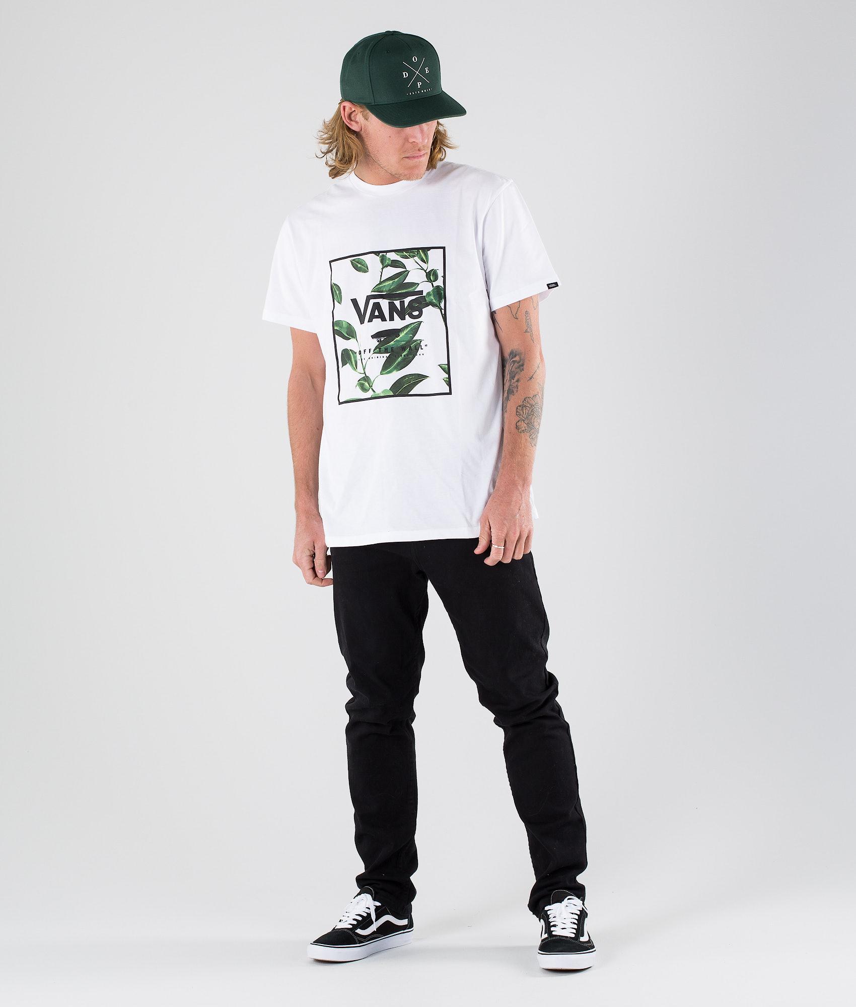 913ec35fc Vans Print Box T-shirt White/Rubber Co. Floral - Ridestore.com
