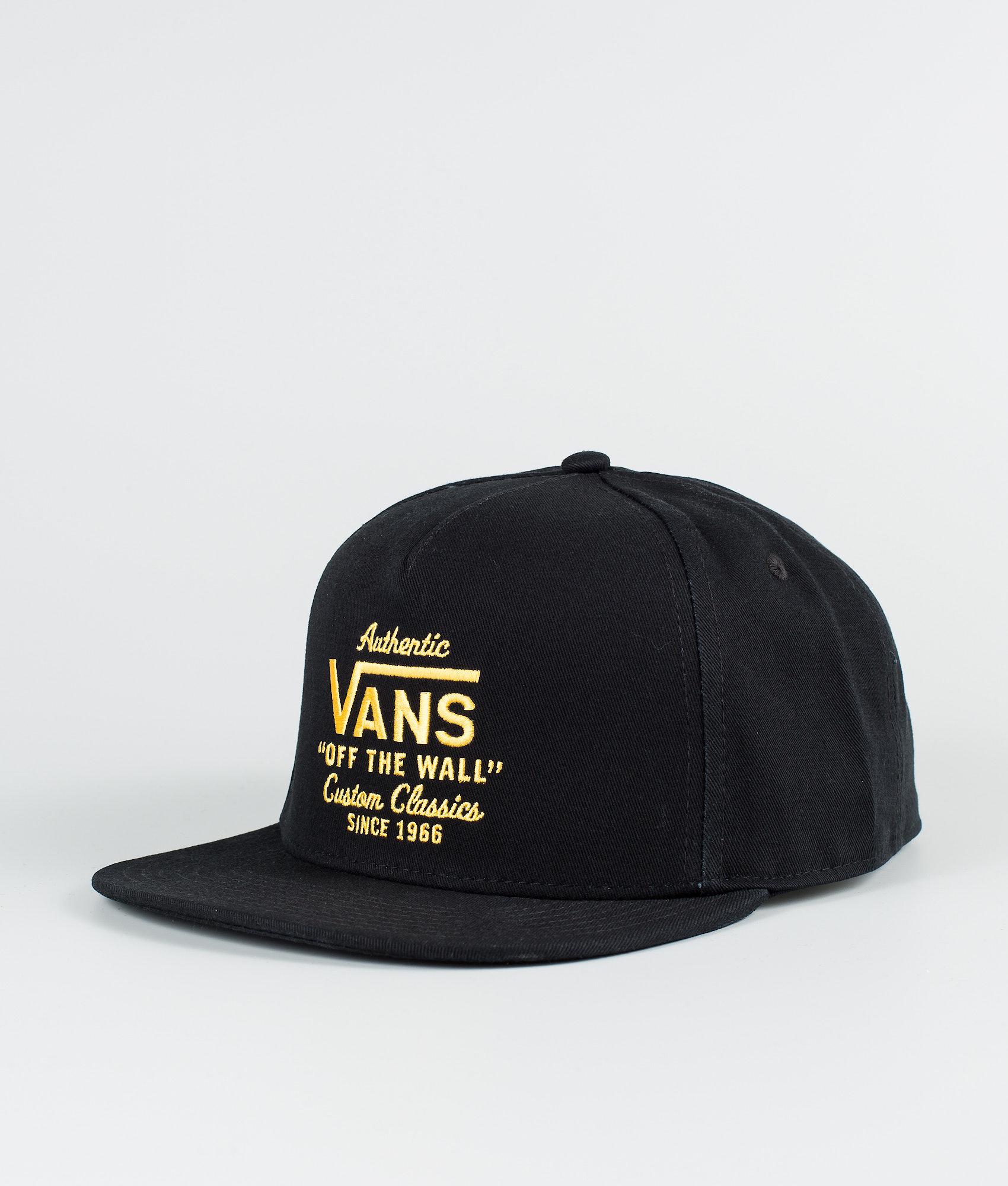 c7eb439fc0 Vans Wabash Snapback Cap Black/Zinnia