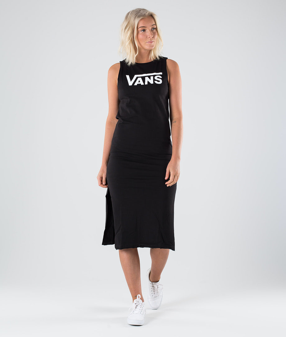 Vans Flying V Midi Kleid Black