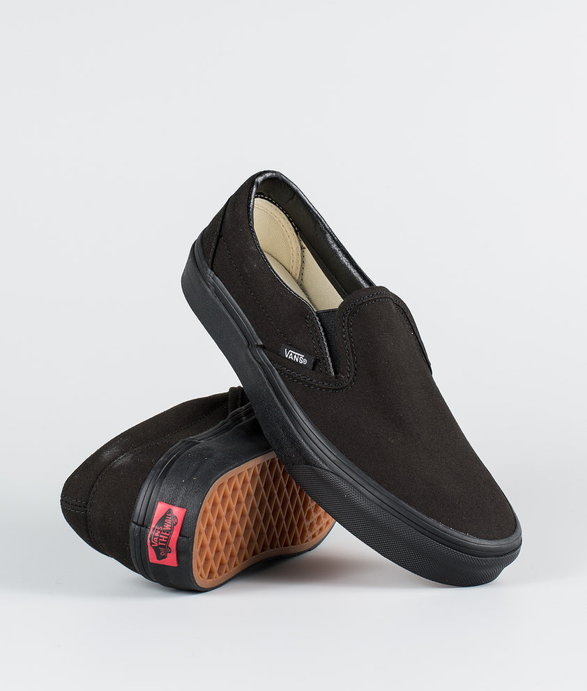 Vans Classic Slip-On Sko Black/Black