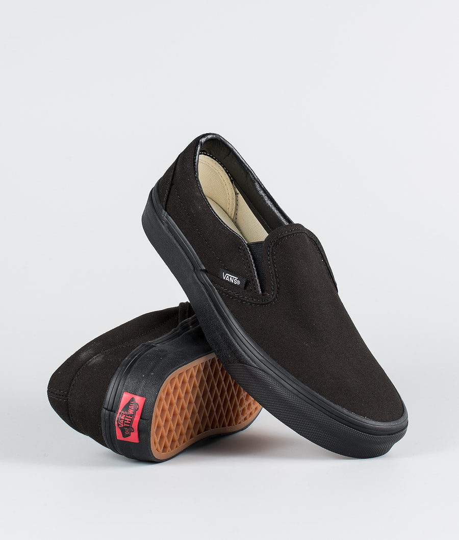 Vans Classic Slip-On Skor Black/Black