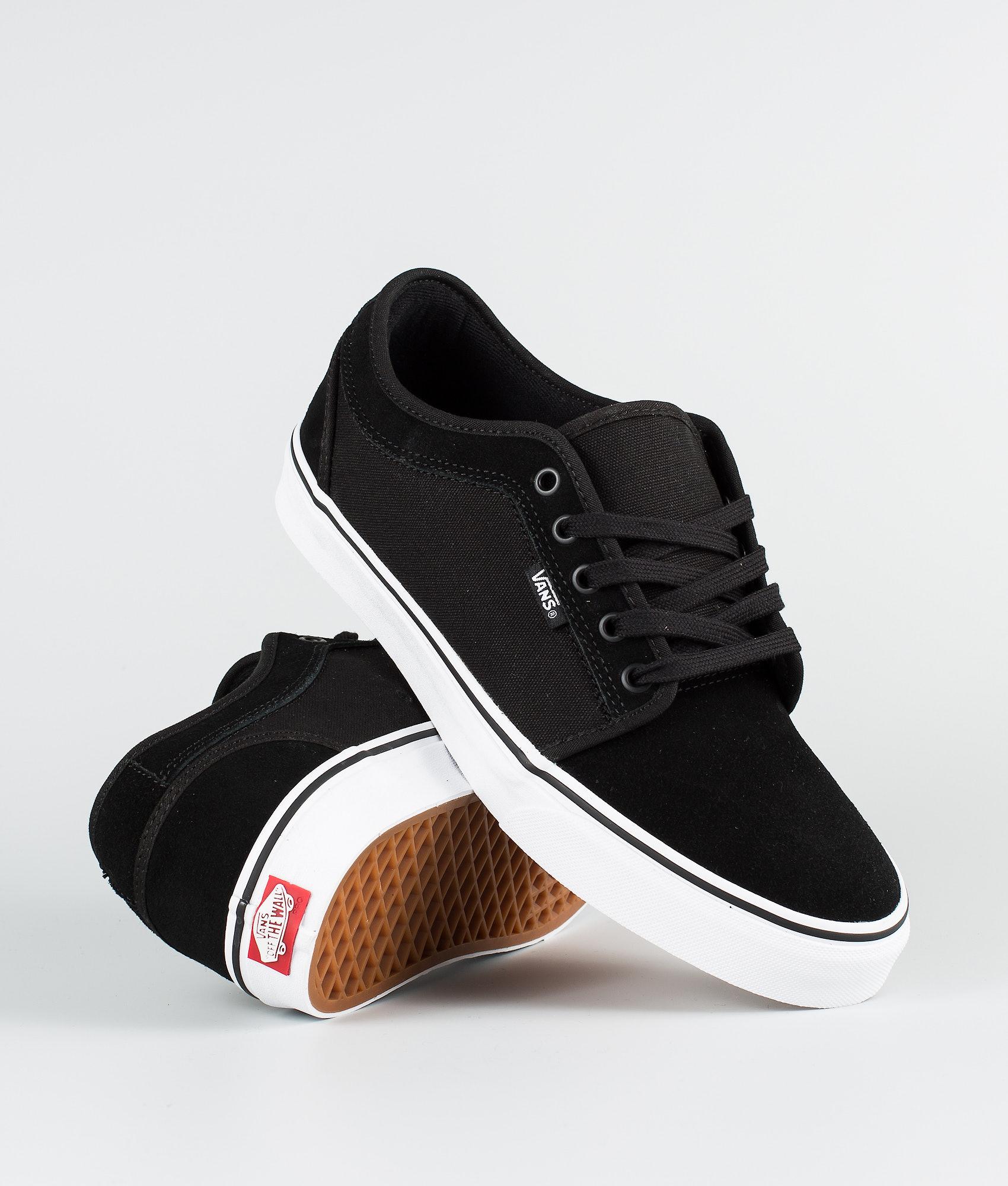 44bfb30ea7f17 Vans Chukka Low Shoes (Suede) Black/True White