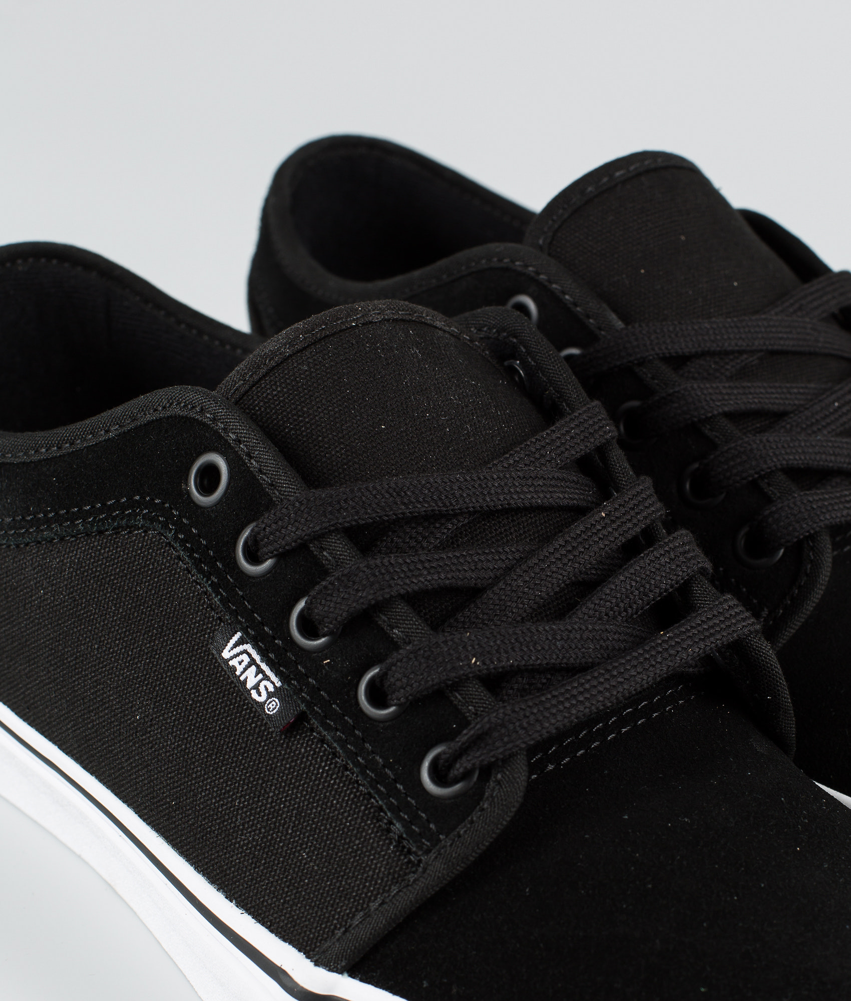 3eeba9ffcb Vans Chukka Low Shoes (Suede) Black True White - Ridestore.com