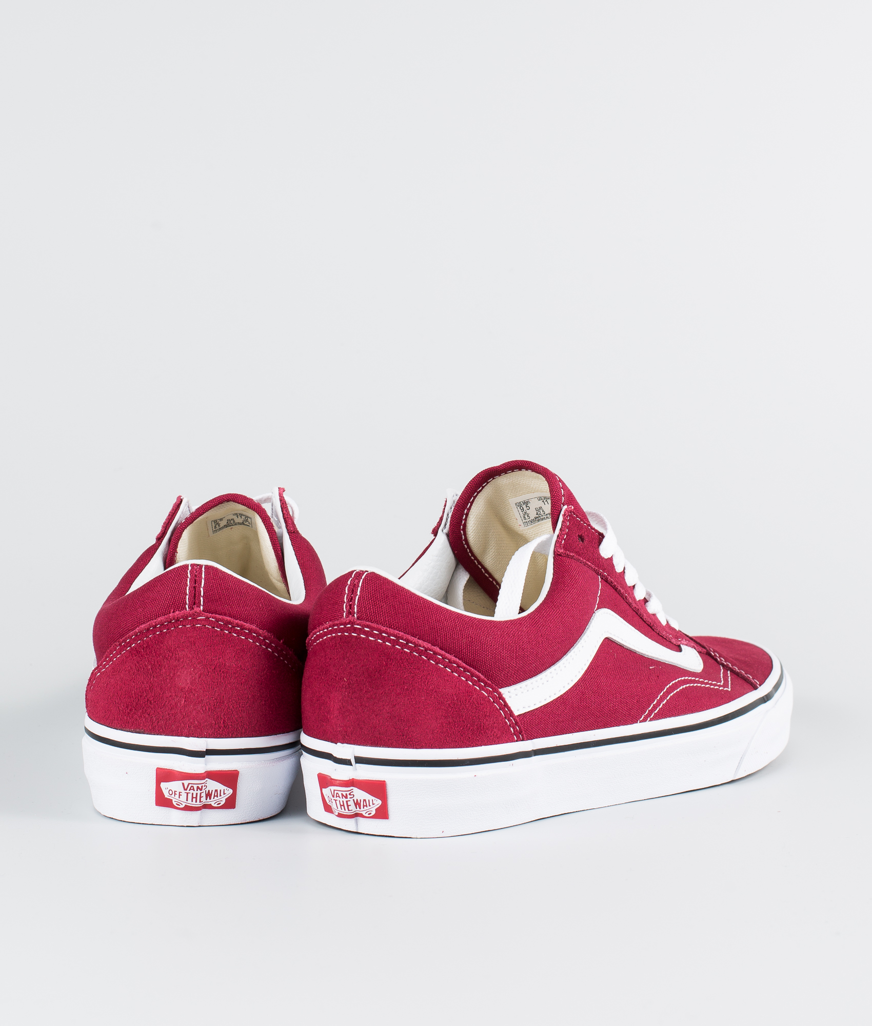 Old White Rumba Skool Redtrue Vans it Ridestore Scarpe hCtxQdsr
