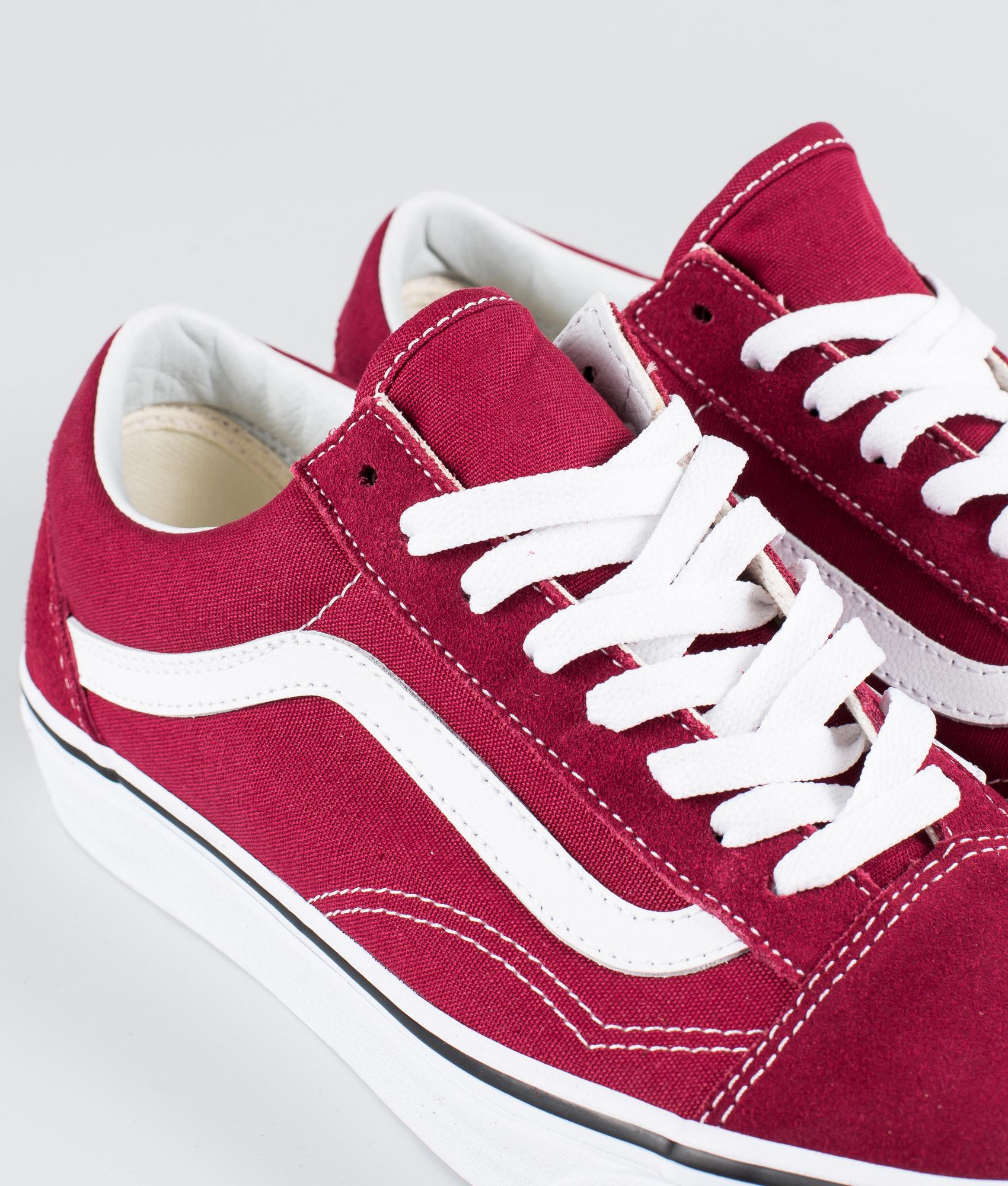 4b76f19e65 Vans Old Skool Shoes Rumba Red True White - Ridestore.com