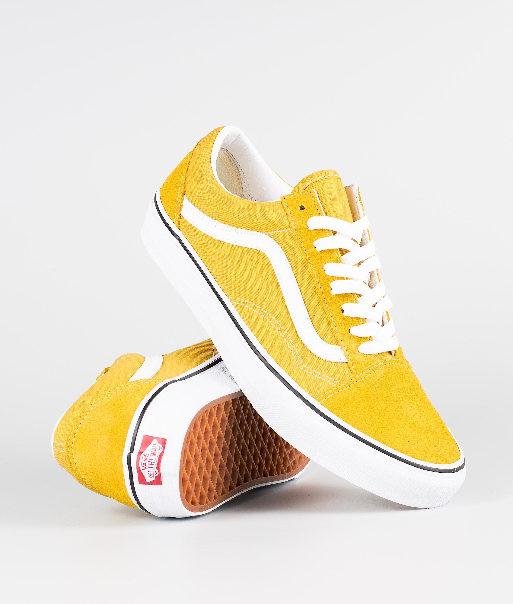 a58b810c73 Vans Old Skool Shoes Yolk Yellow/True White