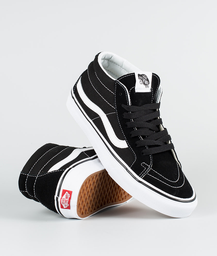 Vans Sk8-Mid Reissue Sko Black/True White