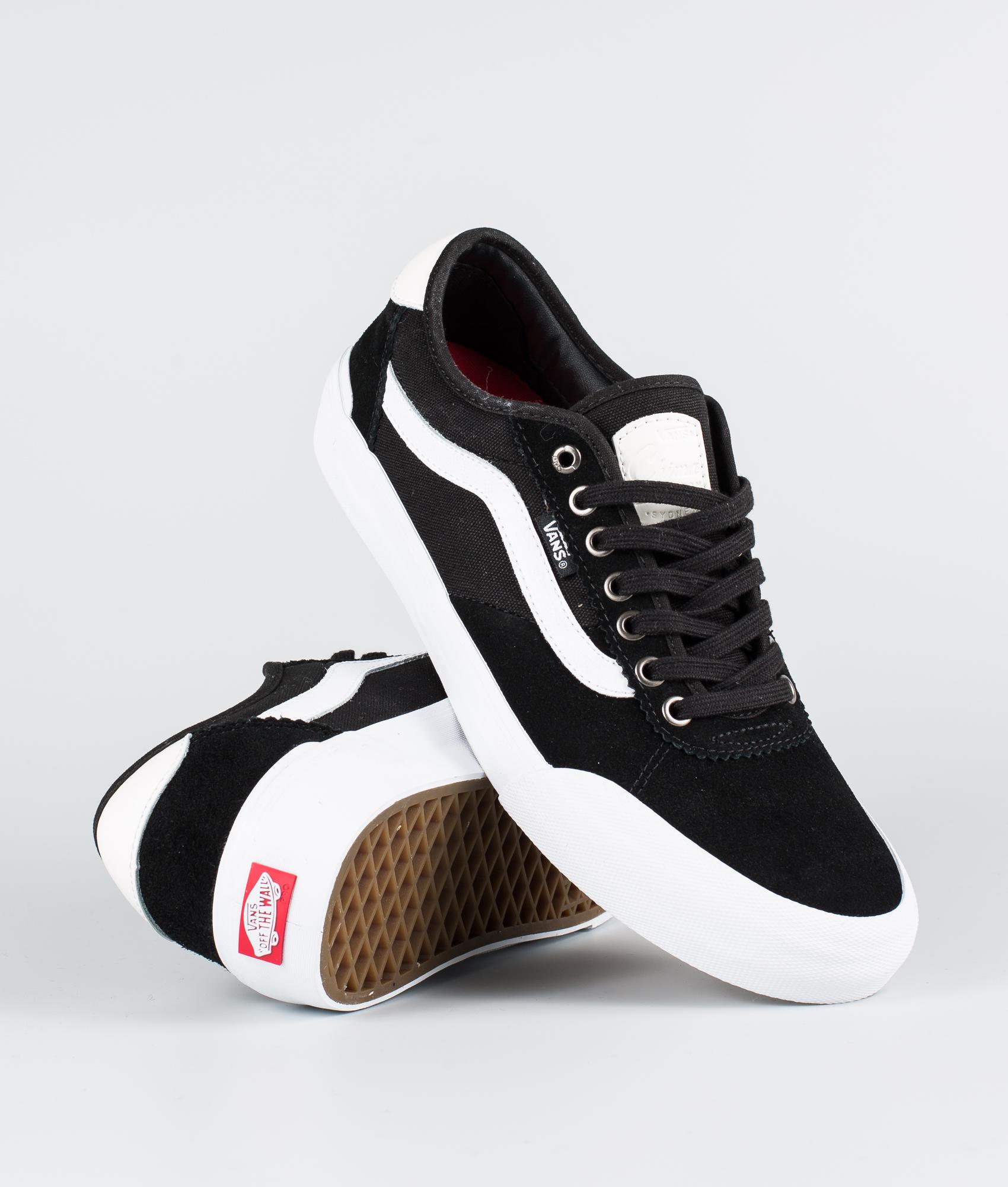 Chima Chaussuressuedecanvas Vans Pro 2 blackwhite eH2WE9IYD