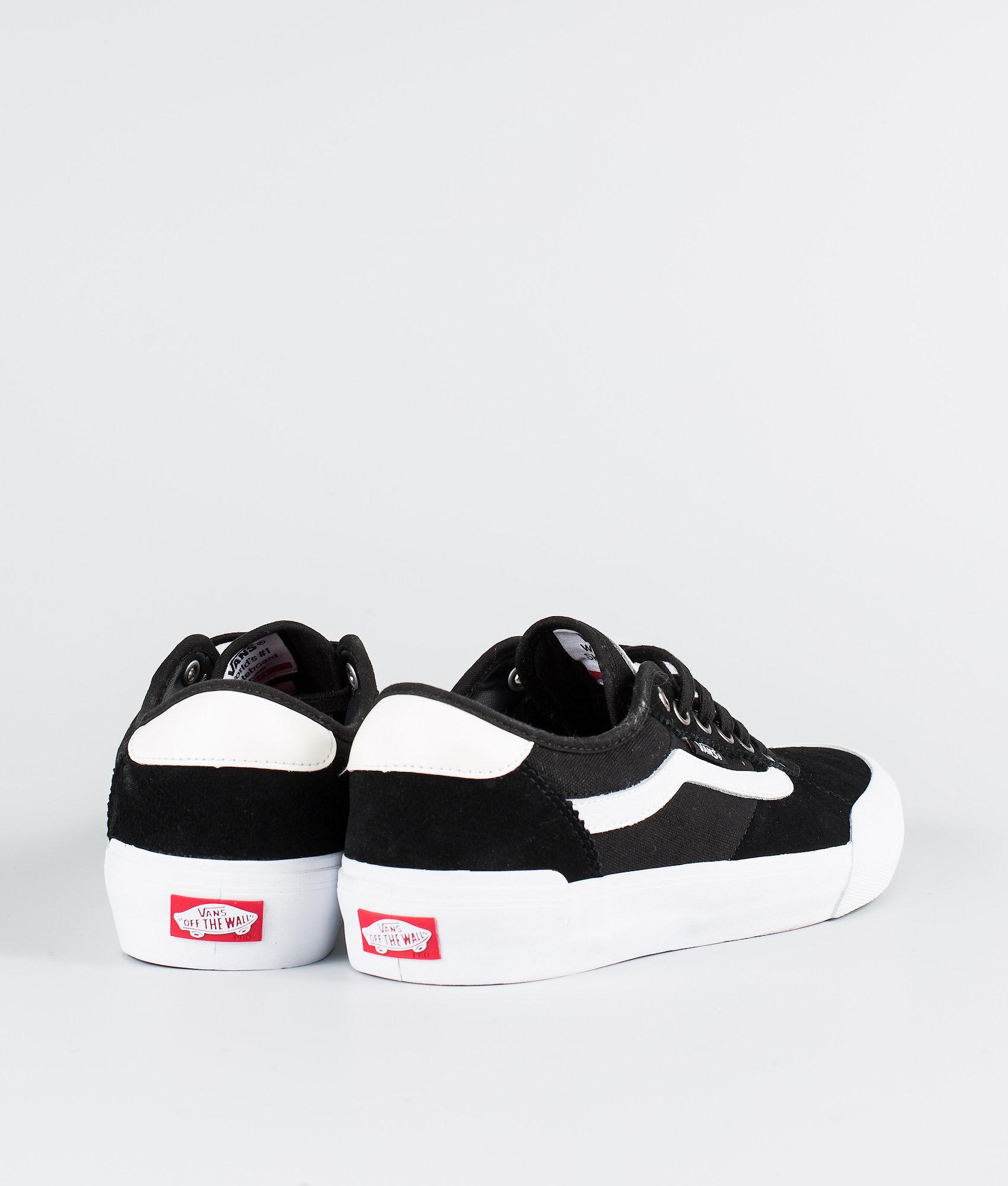 917464f54b8 Vans Chima Pro 2 Shoes (Suede Canvas)Black White - Ridestore.com