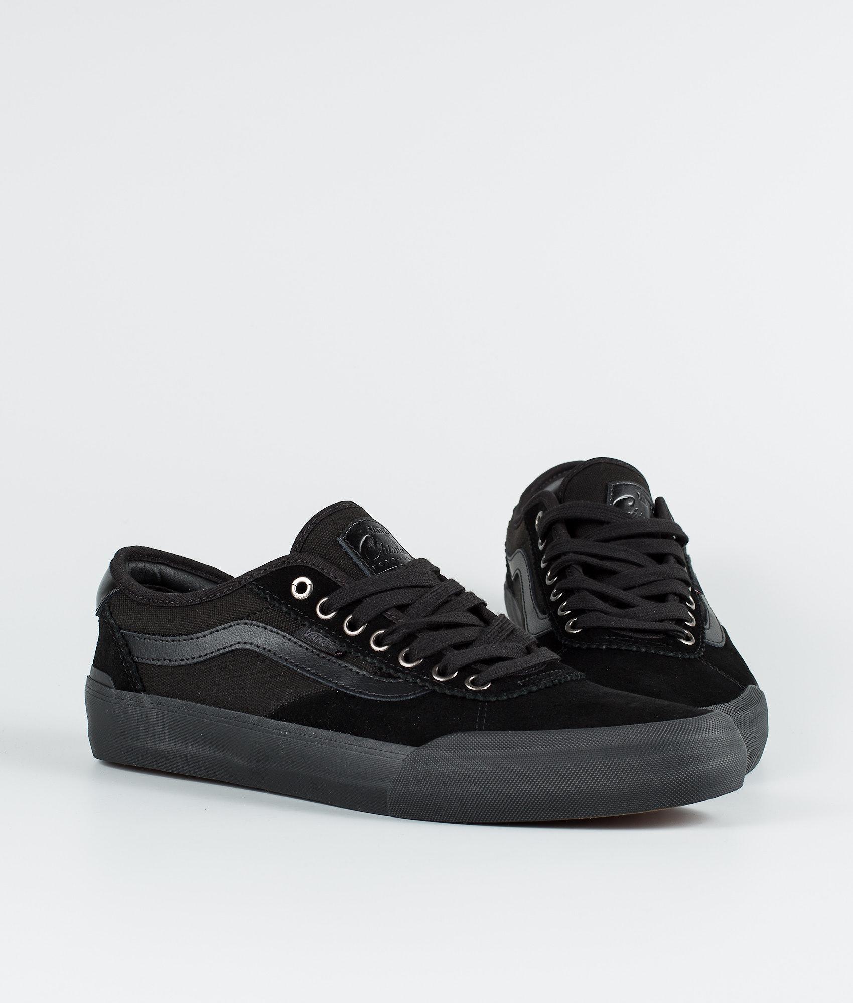 e6a2779d44 Vans Chima Pro 2 Shoes (Suede) Blackout - Ridestore.com