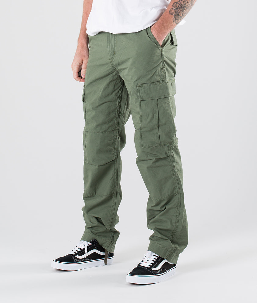 Carhartt Regular Cargo Pant Bukser Dollar Green