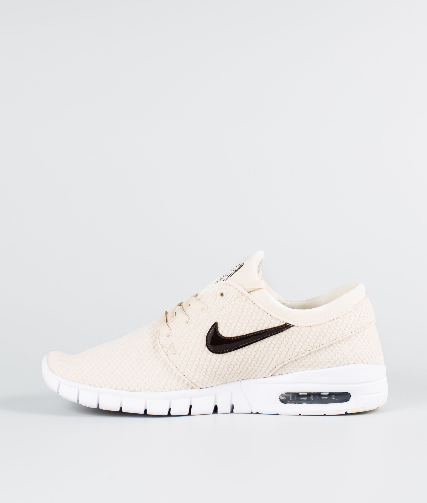 Nike Stefan Janoski Max Schuhe Light CreamVelvet Brown White