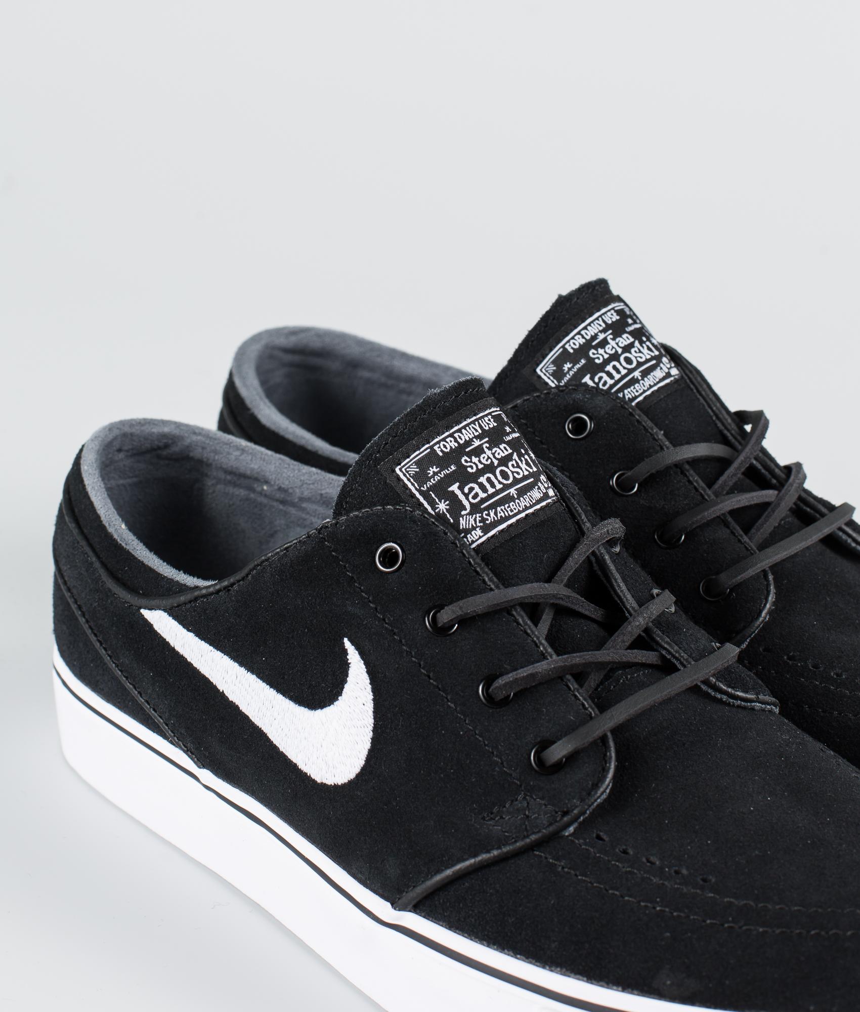 Nike Zoom Stefan Janoski Og Schuhe Black/White-Gum Light Brown