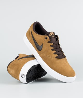 buy online 76696 94123 Nike Check Solar Scarpe Golden Beige/Velvet Brown-White