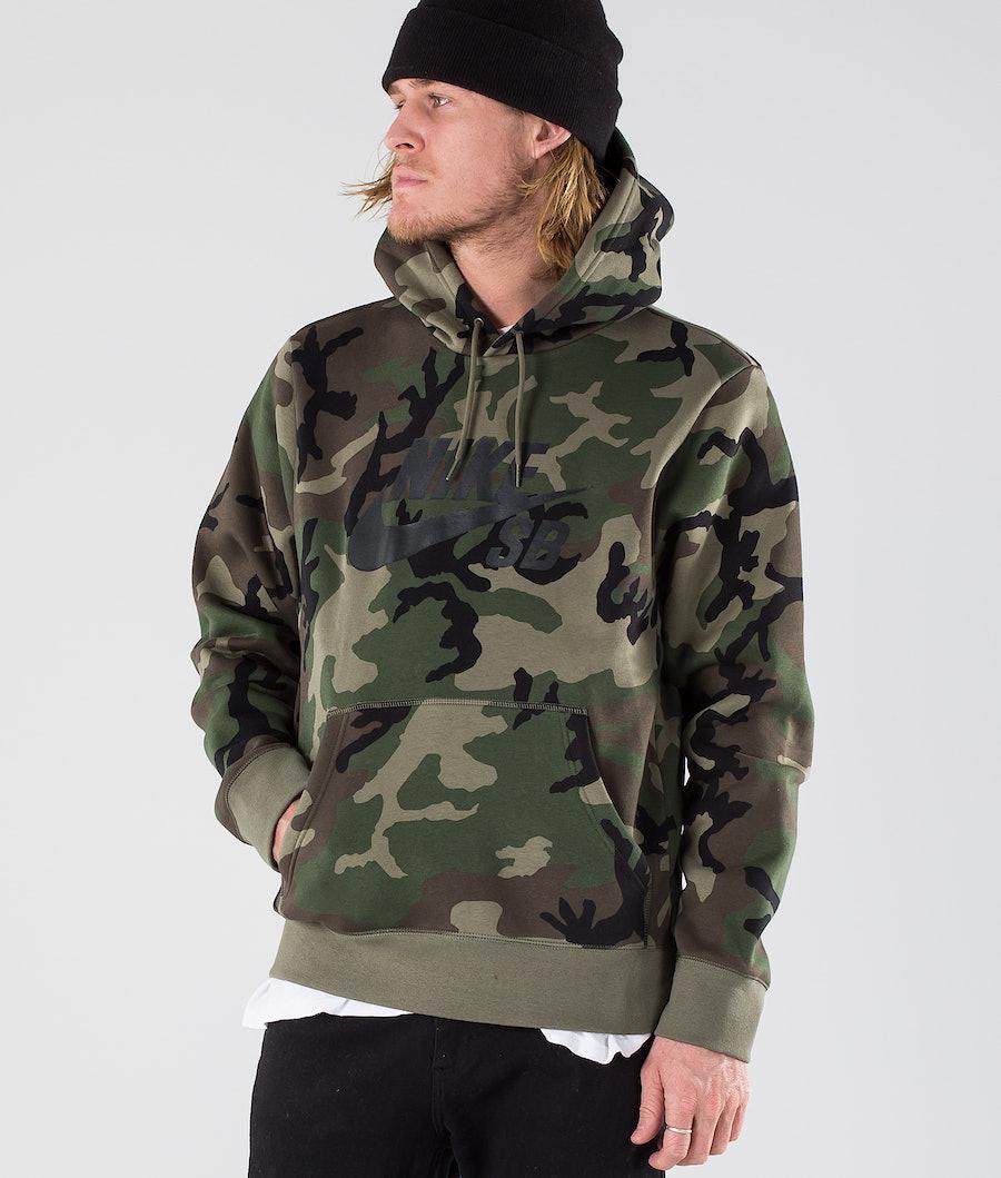 Nike Hoodie Icon Erdl Hood Medium Olive/Medium Olive/Black