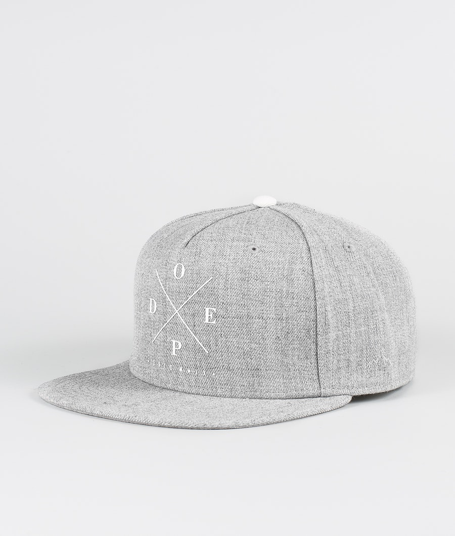 Dope 2X-Up Caps Heather Grey