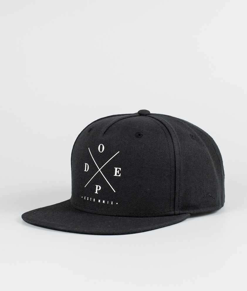 Dope 2X-Up Casquette Black