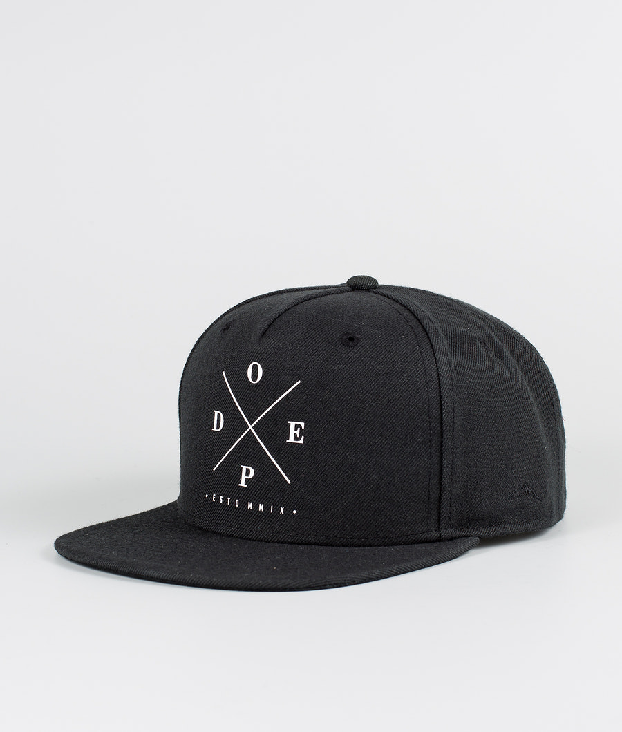 Dope 2X-Up Cap Black