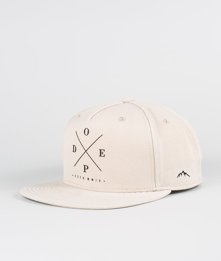 Dope 2X-Up Casquette Sand