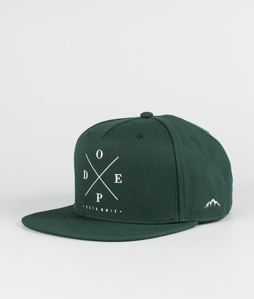 Dope 2X-Up Casquette Green