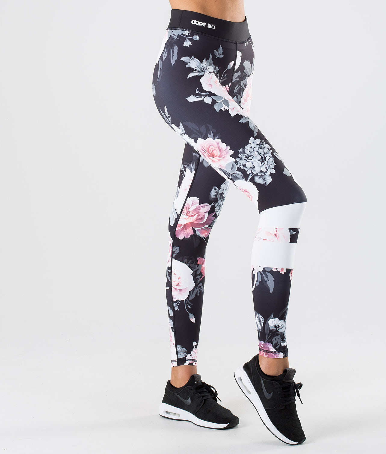 Dope Razor Leggings Pink Flower