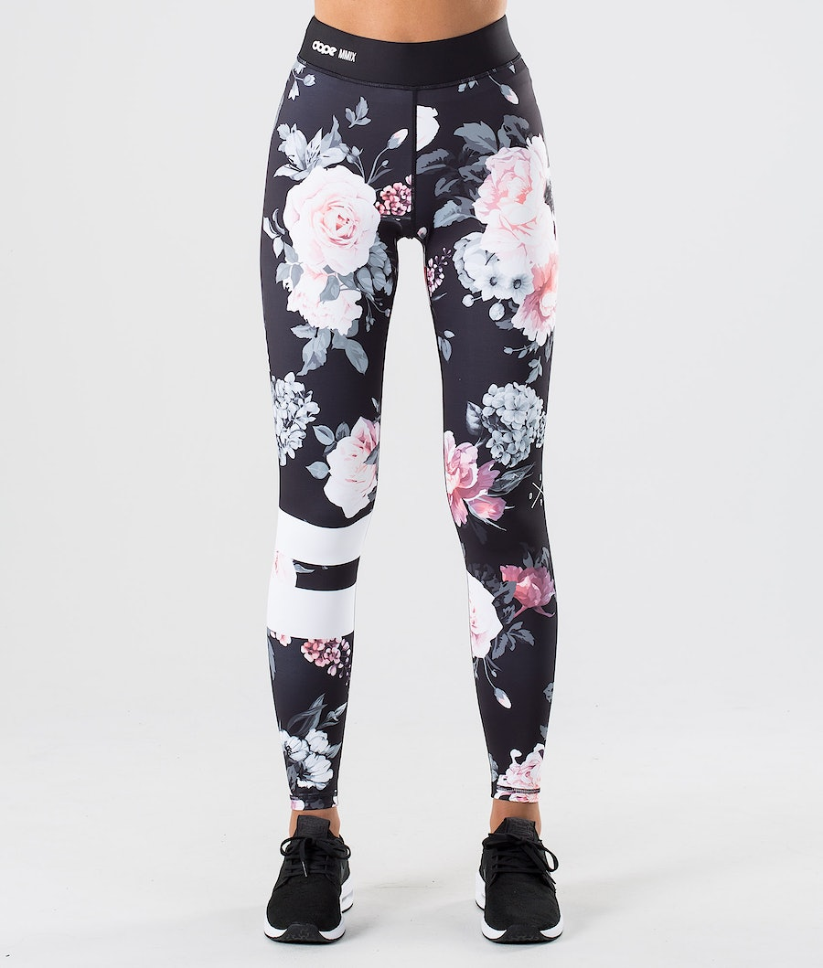 Dope Razor Leggings Damen Pink Flower