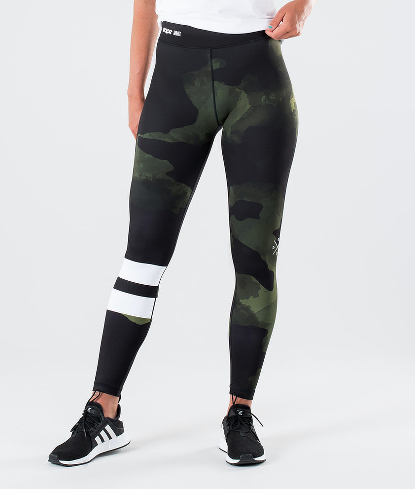 Dope Razor Leggings Greencamo