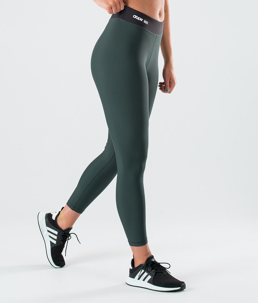 Dope Razor Leggings Royal Green