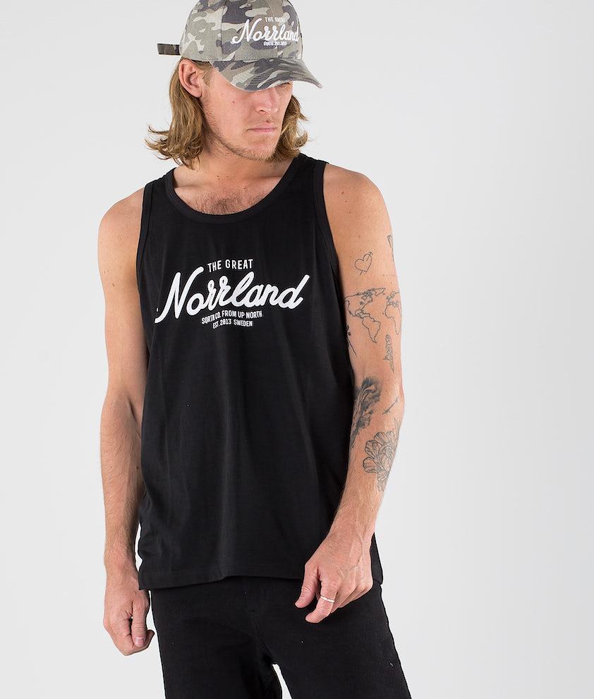 SQRTN Great Norrland Singlet Black