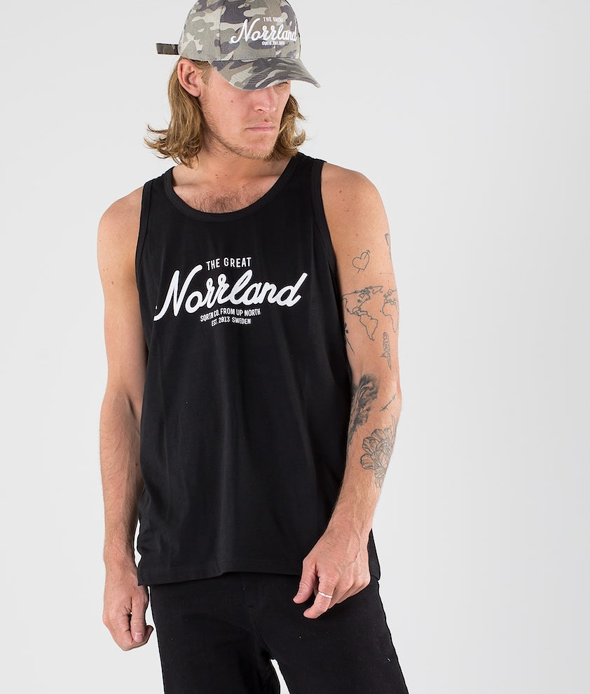 SQRTN Great Norrland Singlet Black