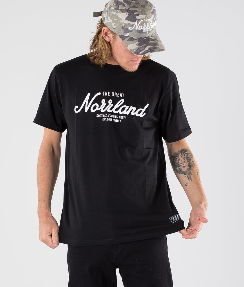 SQRTN Great Norrland T-shirt Black
