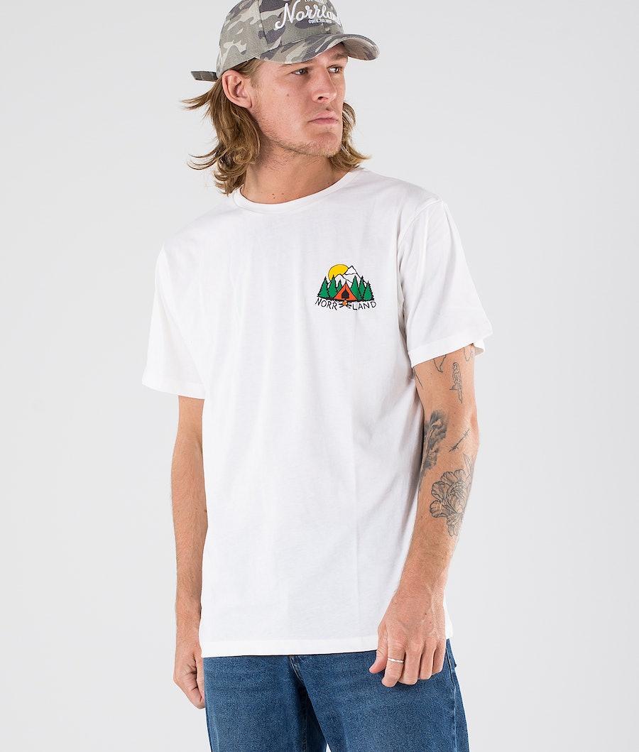 SQRTN Campsite 2 T-shirt White