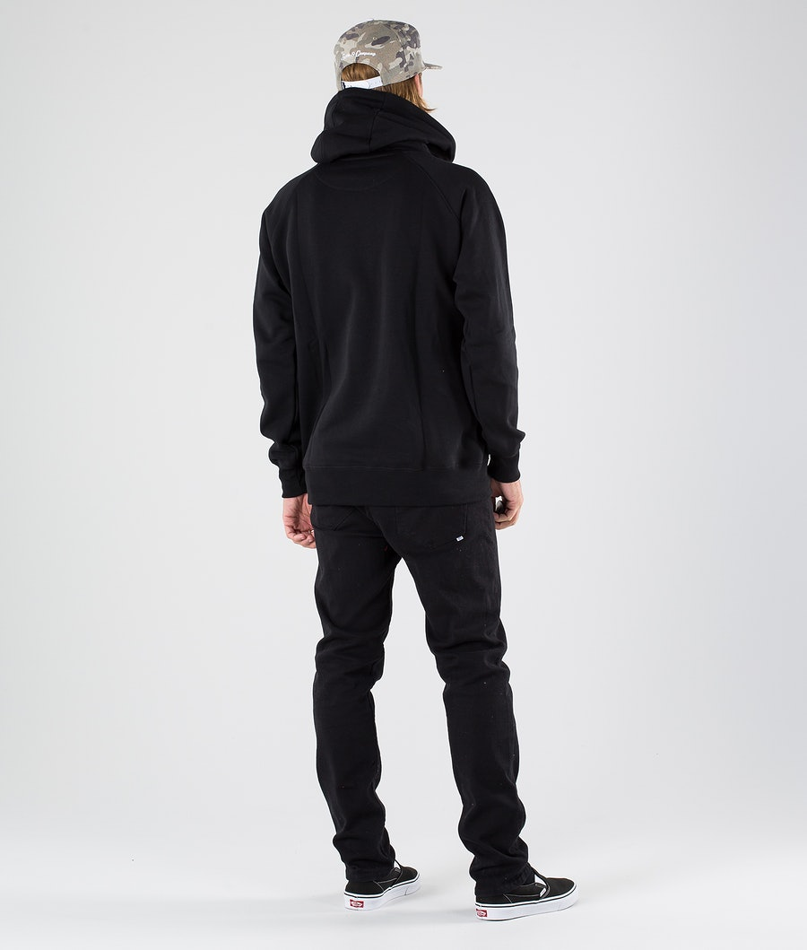 SQRTN Great Norrland Hood Black