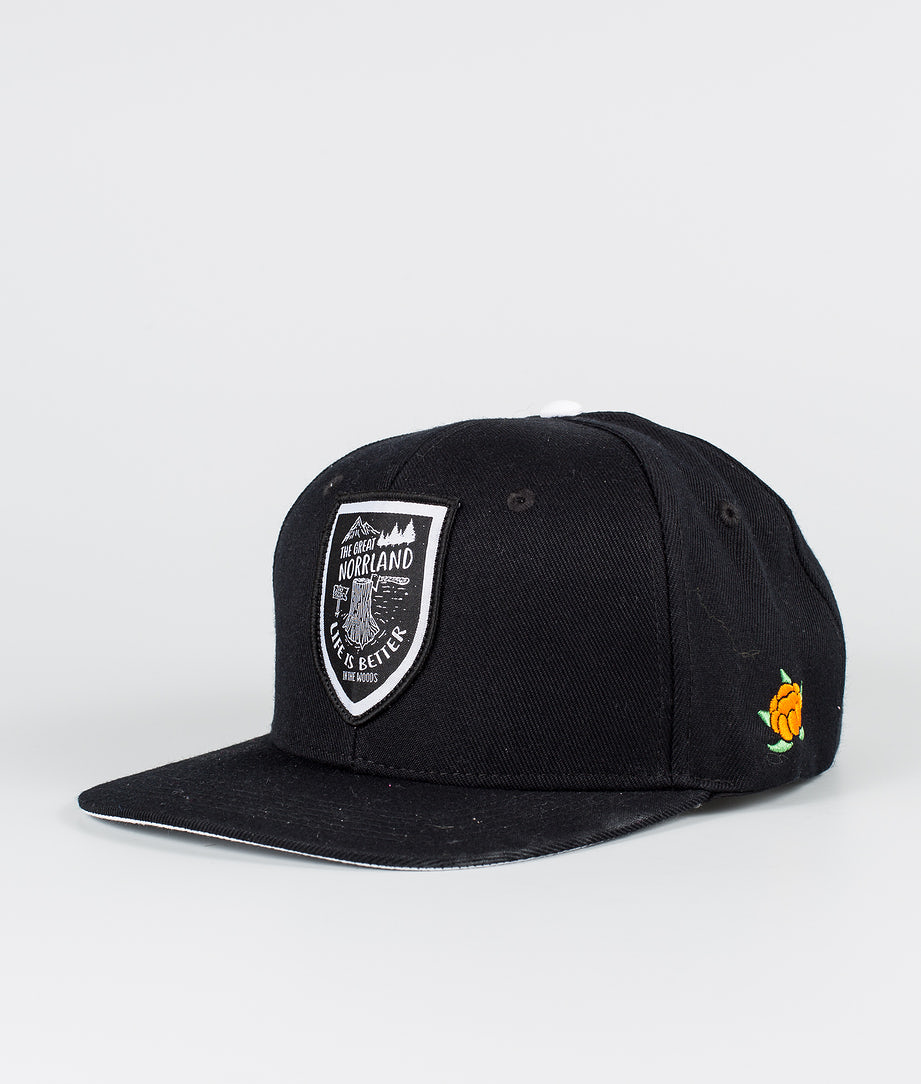SQRTN Stock Caps Black