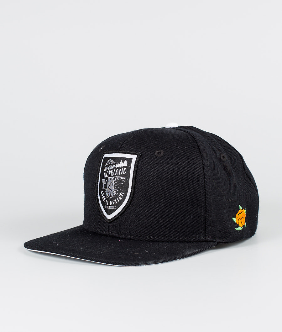 SQRTN Stock Cap Black