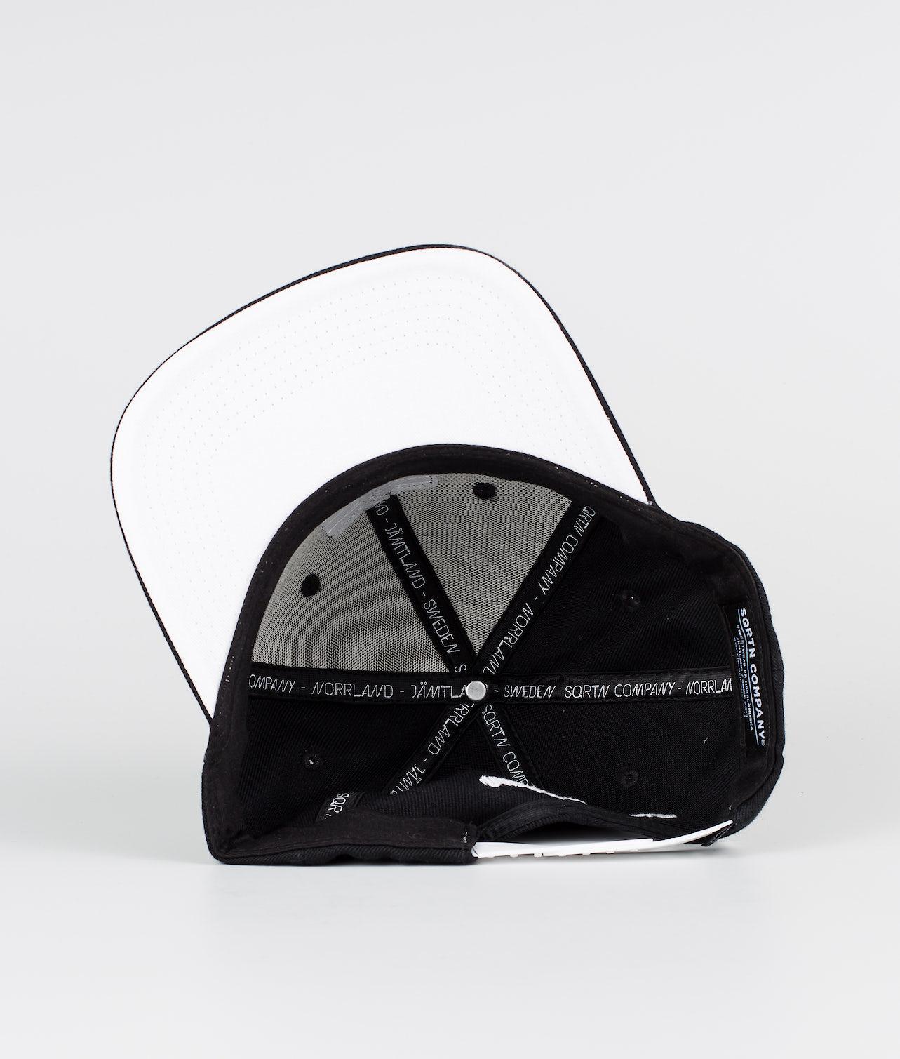 SQRTN Stock Caps Black