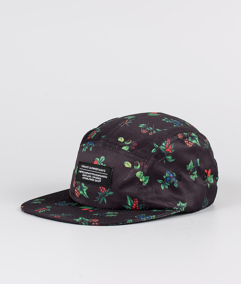 SQRTN 5-panel Keps Berry Black