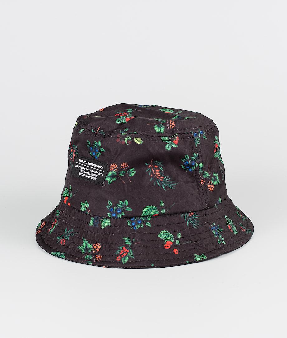 SQRTN Bucket Hat Other Berry Black