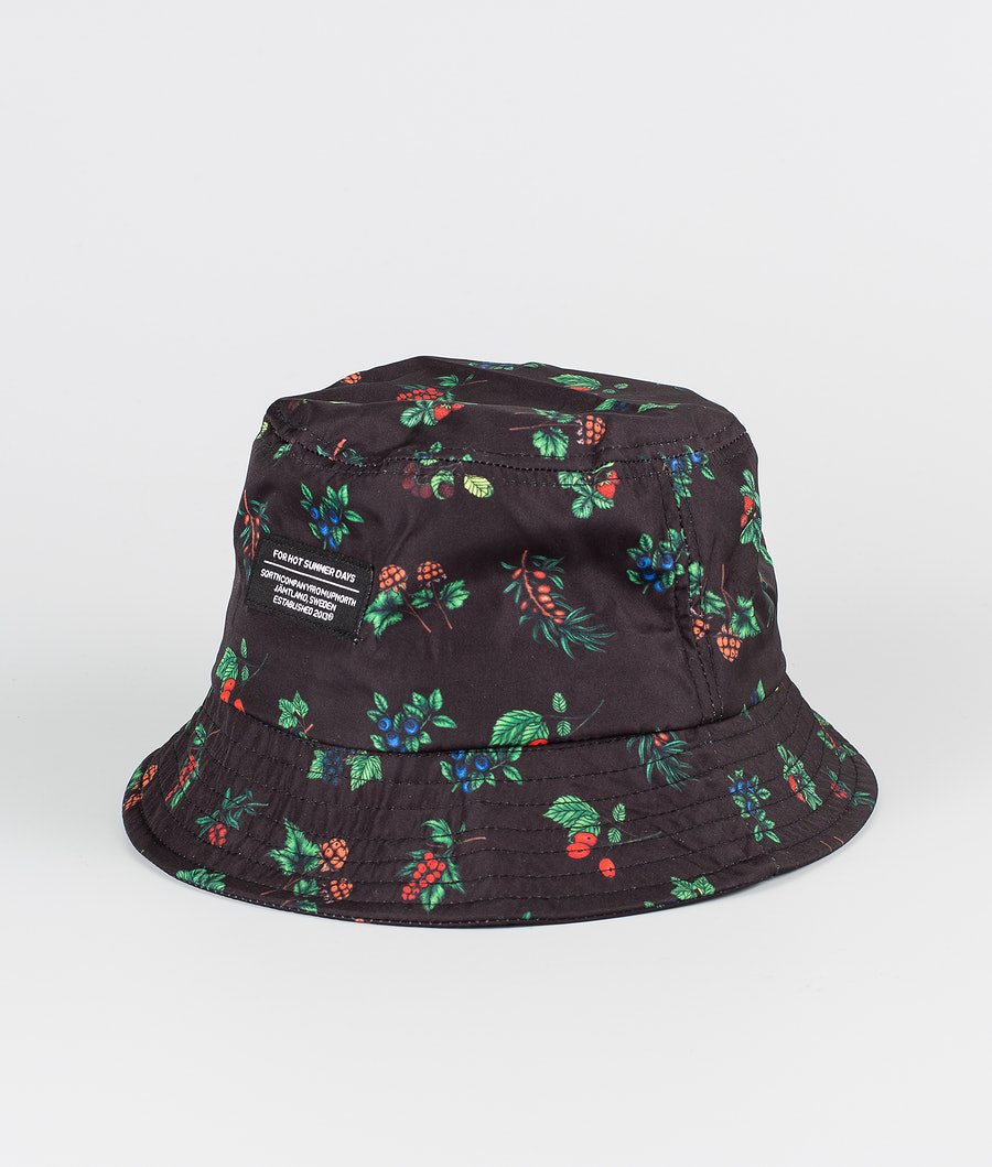SQRTN Bucket Hat Sonstiges Berry Black