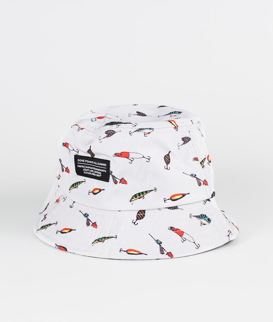 SQRTN Bucket Hat Sonstiges Lure Grey