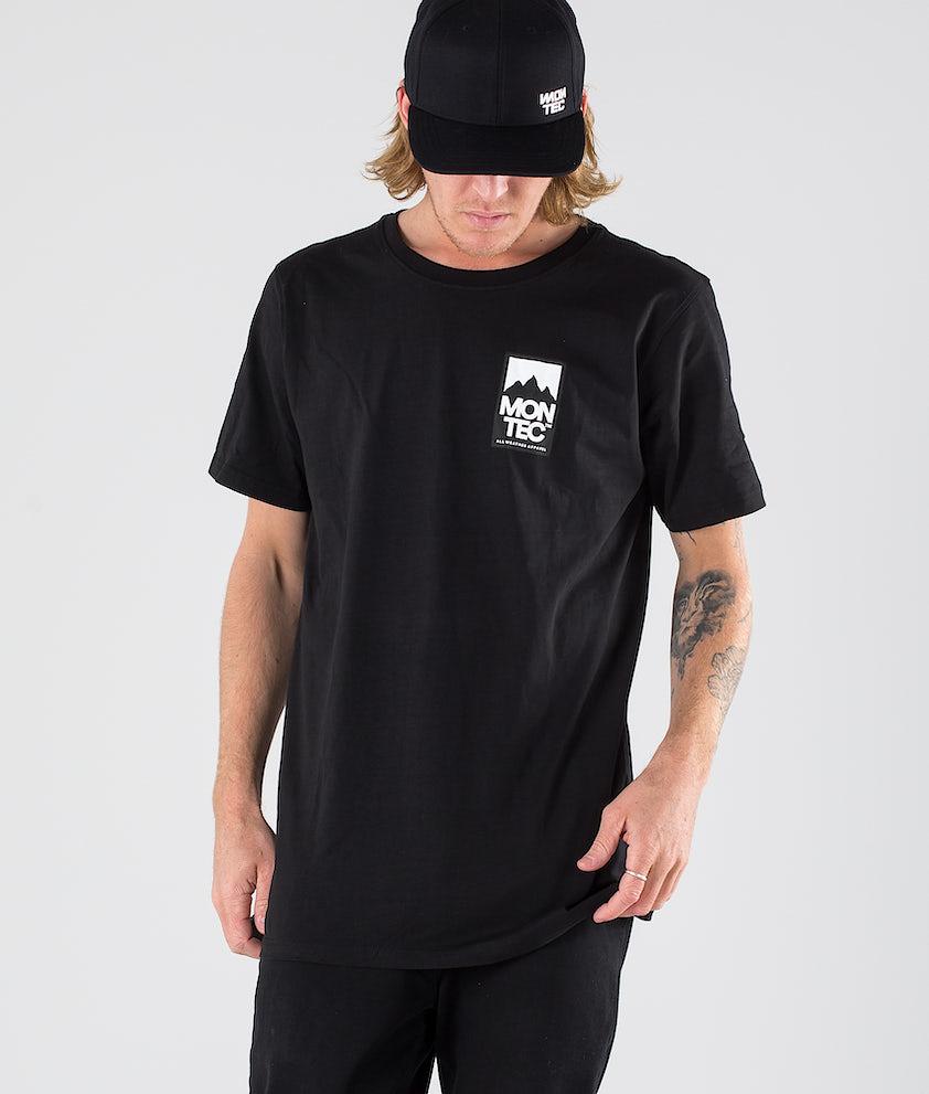 Montec Classic T-shirt Black