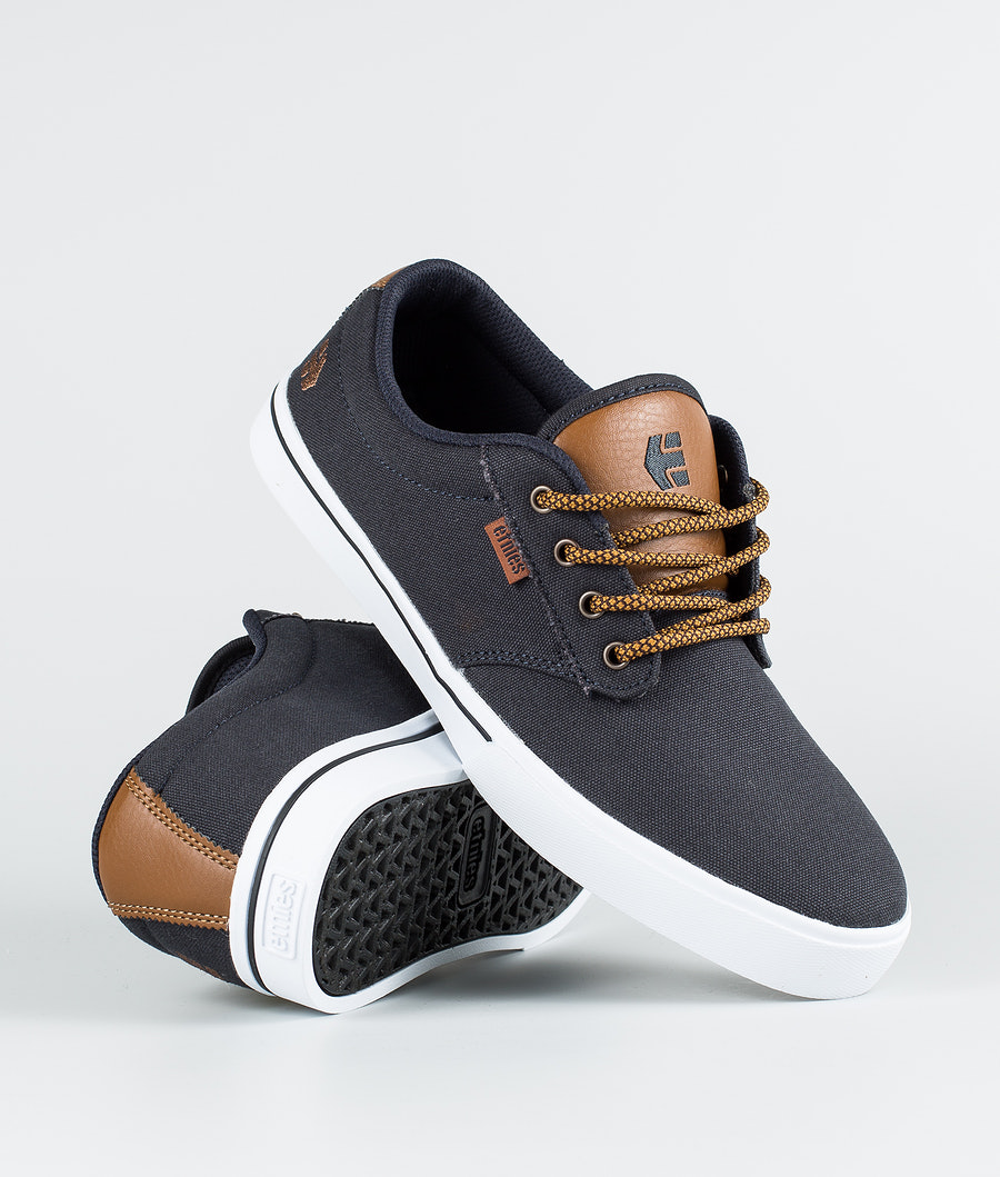 Etnies Jameson 2 Eco Skor Navy/Tan/White