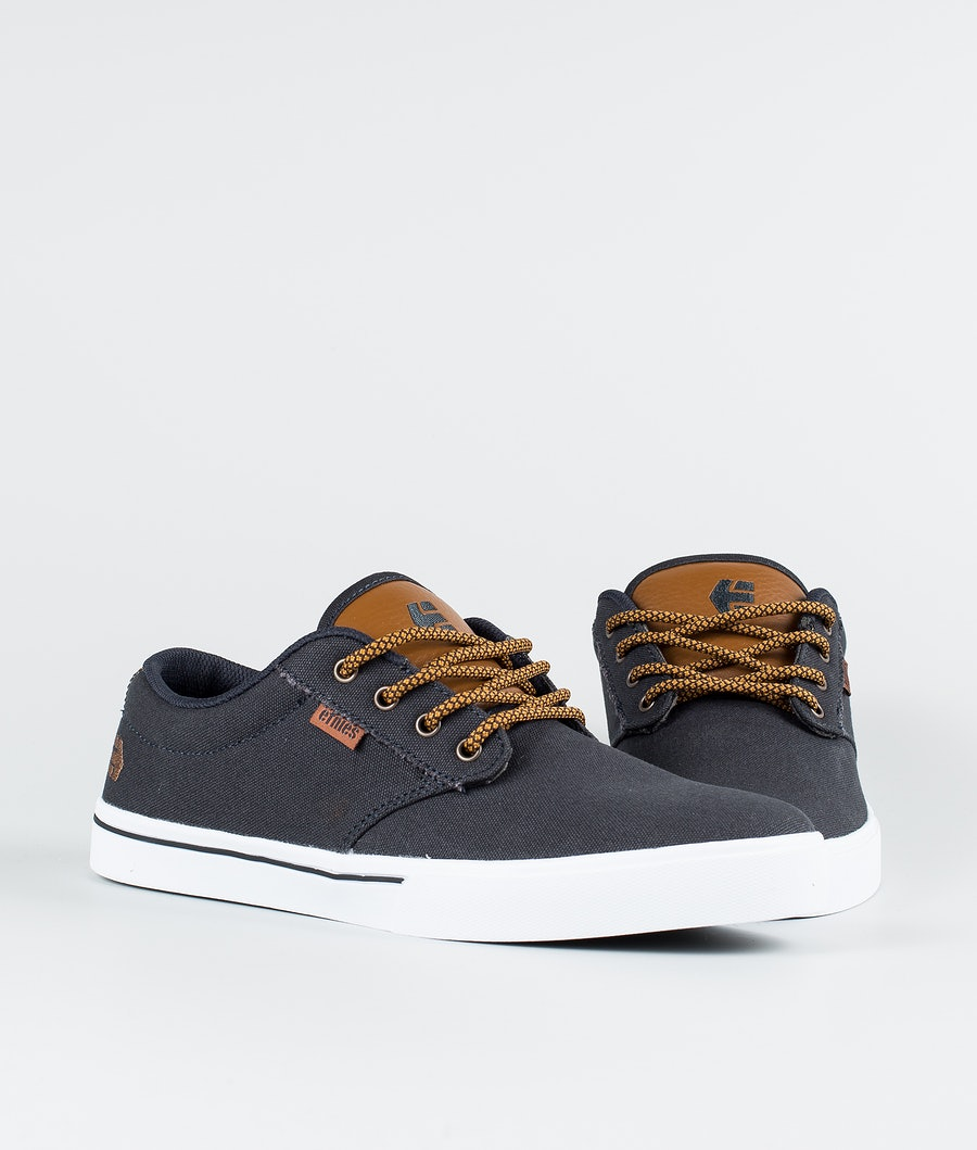 Etnies Jameson 2 Eco Shoes Navy/Tan/White