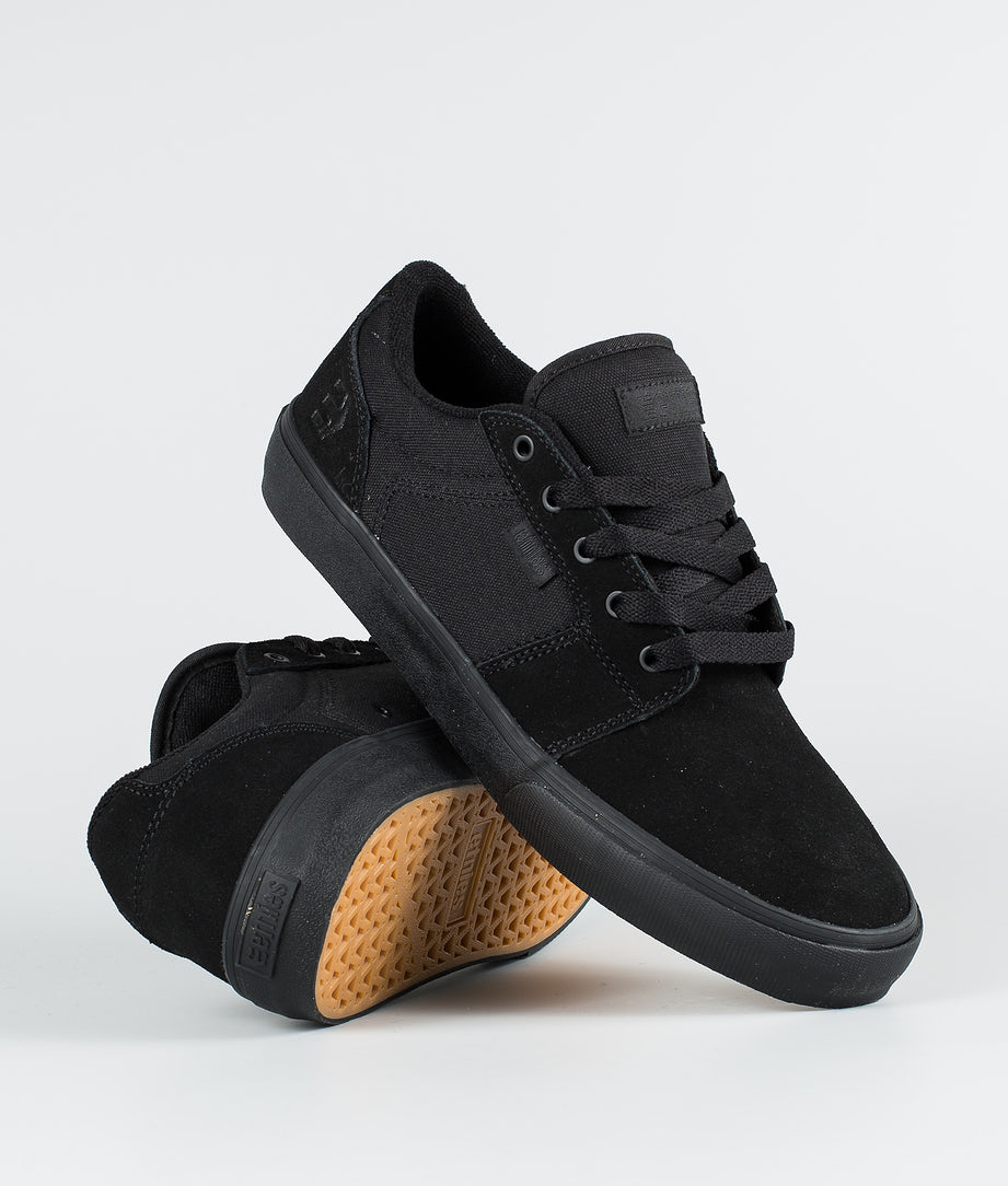 Etnies Barge LS Shoes Black/Black/Black