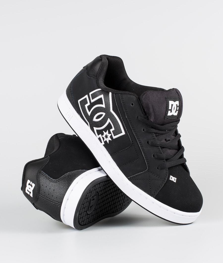 DC Net Shoes Black/Black/White